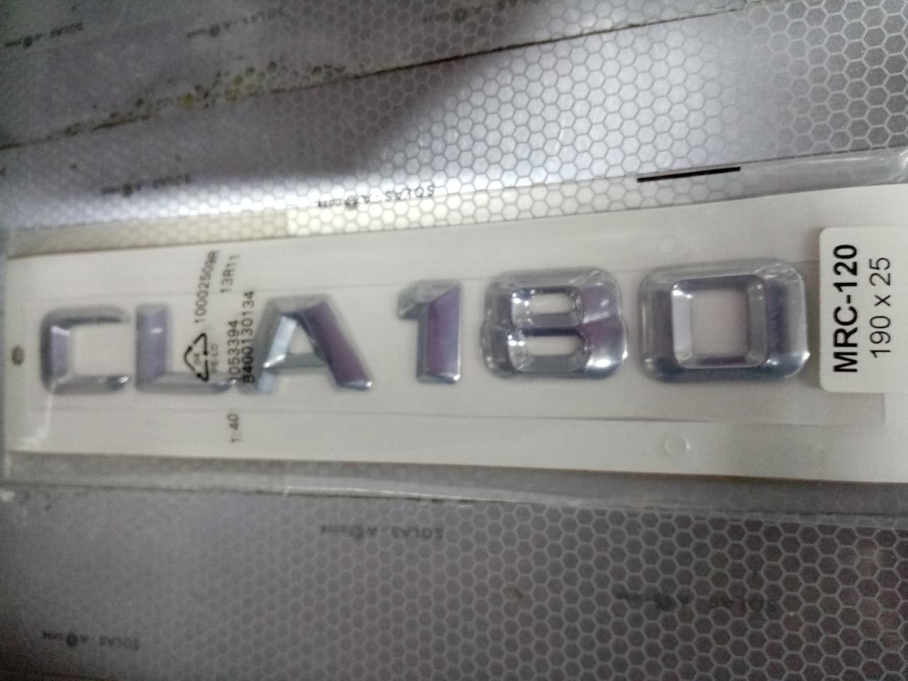 Надпись CLA180   190х25 мм