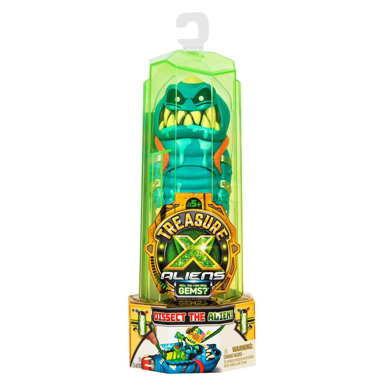 Treasure X Ігровий набір Прибульці Синій в непрозорій упаковці (Сюрприз) 41542