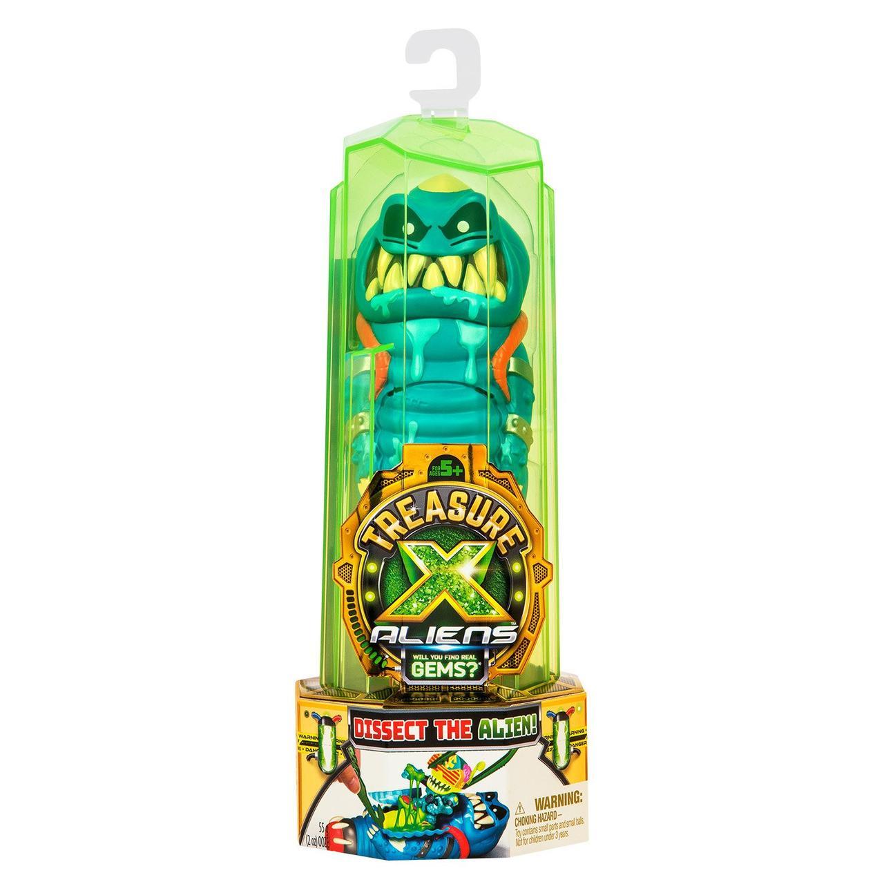 Treasure X Игровой набор Пришельцы Синий в непрозрачной упаковке (Сюрприз) 41542