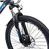 """Велосипед с Багажником SPARK VSP LACE LD24-15-21-004 Чёрно-Синий (Алюминиевая рама 15"""") на 24 дюймов, фото 6"""
