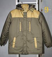 Куртка военная зимняя оливкового окраса