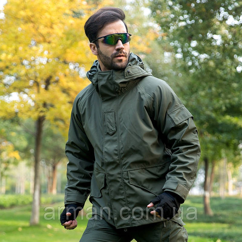 Куртка-штормовка мембранная с подстёжкой (ветровлагозащитная). Опт от 5 ед. Всё в наличии