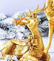 Статуэтка Олень 919-268. Новогодний декор