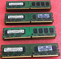Качественная память для всех ПК DDR2 2GB PC2 6400 800 Hynix Samsung и др. Intel AMD! Гарантия!