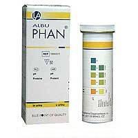 Тест-полоски «Альбуфан» (определение  белка в моче)