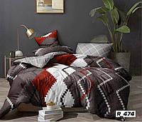 Семейное постельное белье Ranforce ромбики