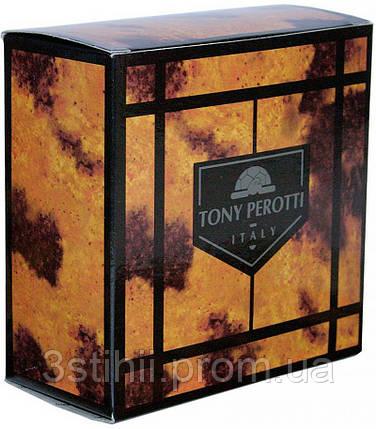 Ремень мужской Tony Perotti Cinture 407 nero Черный 110 см, фото 2