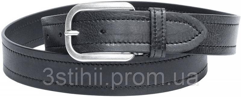 Ремень мужской Tony Perotti Cinture 7004 nero Черный 125 см