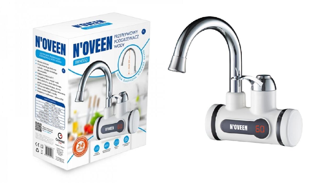 Водогреватель кран электрический проточный Noveen IWH350