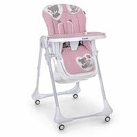Детский cтульчик-трансформер для кормления с Мишками -РАЗНЫЕ ЦВЕТА- Розовый