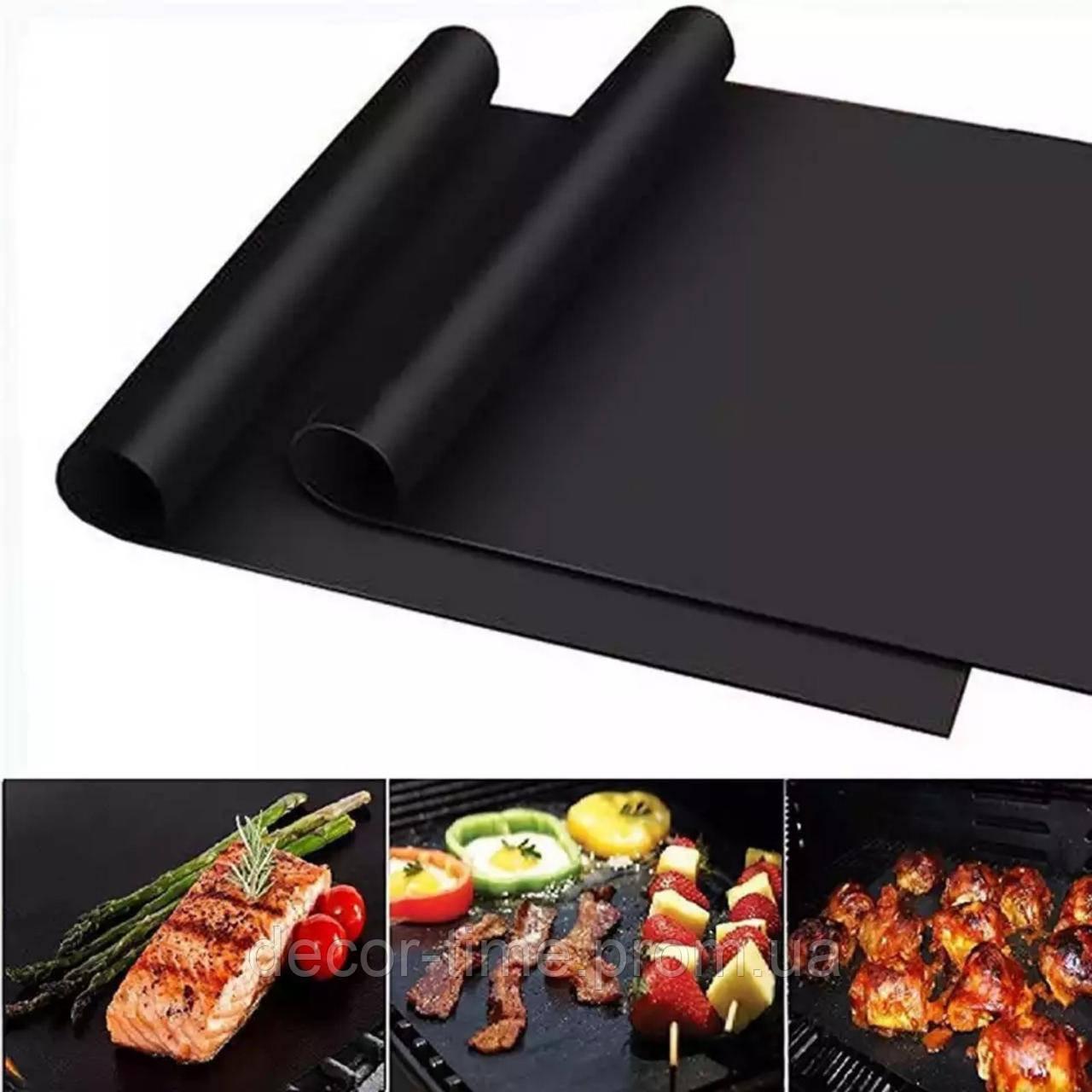 40х33см Тефлоновий антипригарний килимок для випічки , барбекю і гриля 09185893
