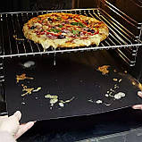 40х33см Тефлоновий антипригарний килимок для випічки , барбекю і гриля 09185893, фото 6