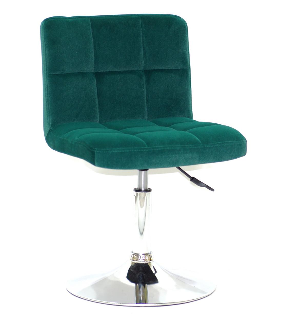 Кресло мастера Arno С Base Бархат, зеленый