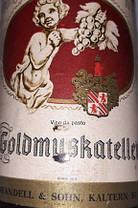 Вино 1972 року Goldmuskateller Австрія, фото 2