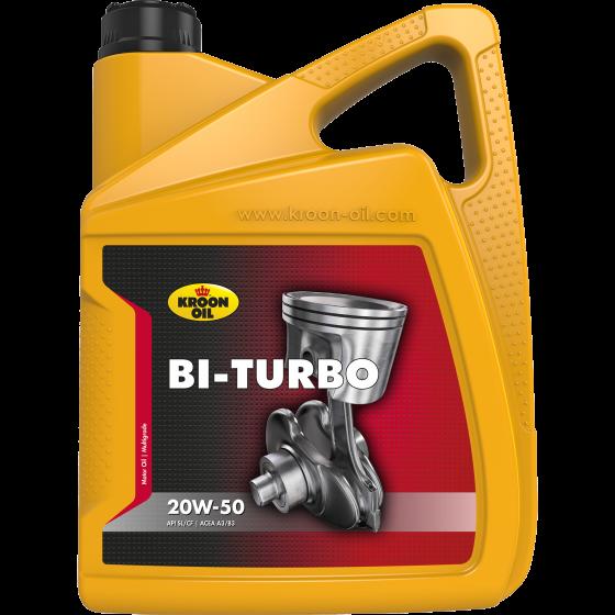 Моторное масло Kroon Oil Bi-Turbo 20W-50 (5л)