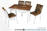 Комплект стіл розкладний + 4 стільці № 983 купити в Одесі, Україні