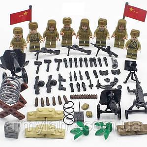 Фигурки СССР  военные  ЛЕГО (АНАЛОГ) , BrickArms