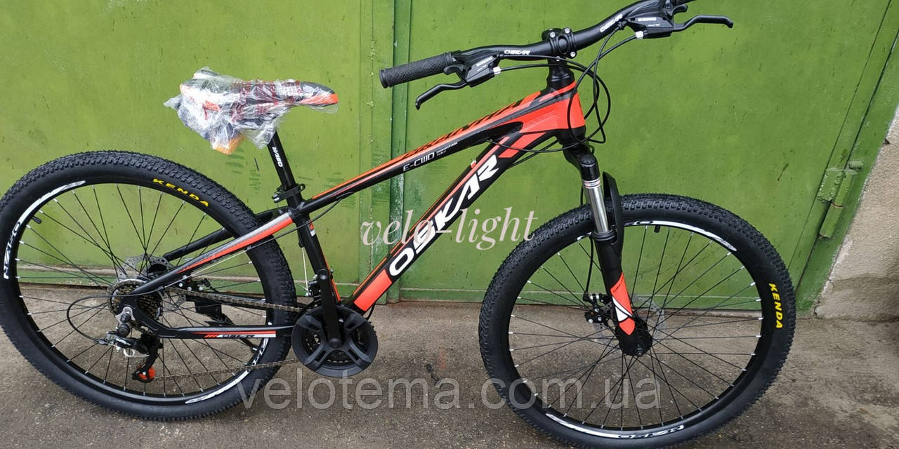 Горный велосипед Oskar Piranha 26 колёса 13 алюминиевая рама дисковые тормоза