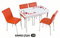 Комплект стіл розкладний + 4 стільці № 1005 купити в Одесі, Україні