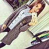 Женская модный вязанный кардиган (два цвета)