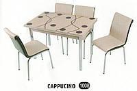 Комплект стол раскладной + 4 стула № 1008, фото 1