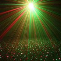 Новогодний Светодиодный уличный Лазерный Проектор Laser Light IP-65-звёздный дождь/ без пульта, корпус-пластик