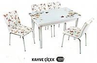 Комплект стіл розкладний + 4 стільці № 1015 купити в Одесі, Україні
