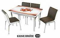 Комплект стіл розкладний + 4 стільці № 1016 купити в Одесі, Україні