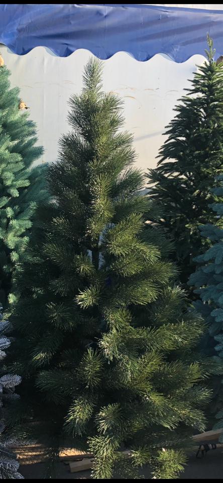 Сосна Литая зеленая Люкс 1.8 м