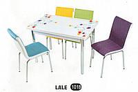 Комплект стіл розкладний + 4 стільці № 1018 купити в Одесі, Україні