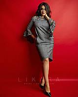 Платье большого размера Likara 32-929, фото 1