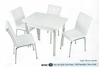 Комплект стол раскладной + 4 стула № 1022 купить в Одессе, фото 1
