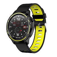 Умные часы-браслет Smart watch band bracelet L8s Green SB0001L8G, КОД: 1291360