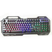 Клавиатура  с подсветкой USB  GK-900, светодиодная клавиатура, led клавиатура, фото 1
