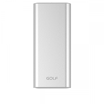 Портативная Батарея Golf G68 (10000mAh) Silver