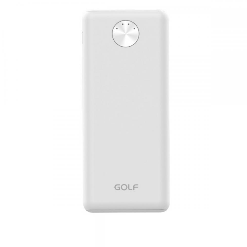 Портативная Батарея Golf G78 (5000mAh) White