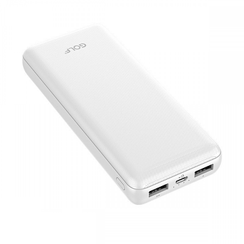 Портативная Батарея Golf G44 QC 3.0 (20000mAh) White