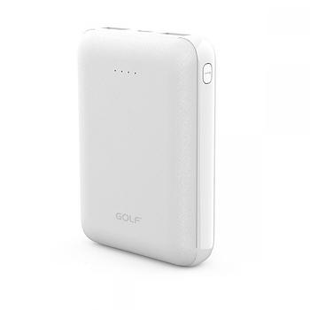 Портативная Батарея Golf G62 (10000mAh) White