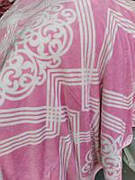 Покривало Євро розміру рожева абстракція