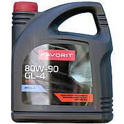 Трансмиссионное масло Favorit 80W-90 GL-4 4л