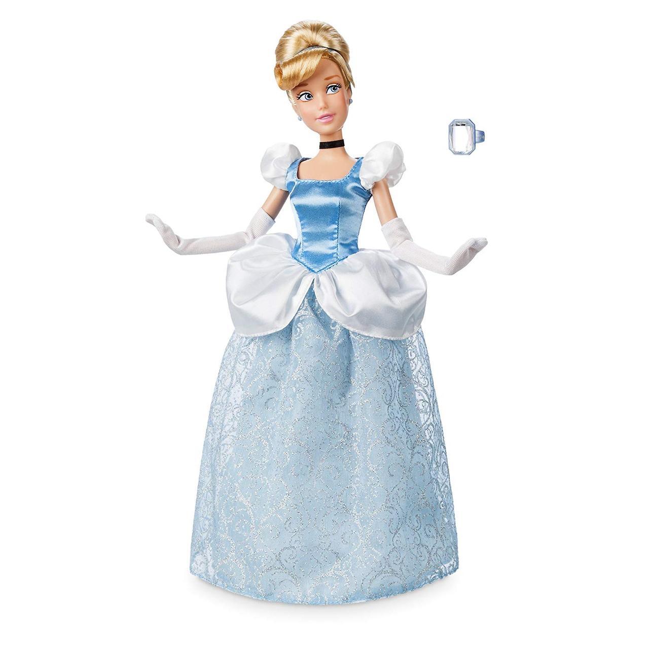Disney Классическая кукла принцесса Золушка c кольцом