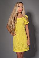 Платье мод 477-4 размер 42-44,44-46,46-48,48-50 желтое (А.Н.Г.)
