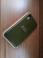 Чехол IPHONE XR (Silicone Case 100% Original)