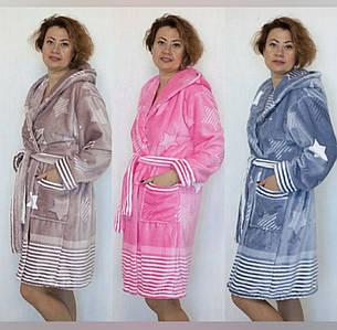 Махровый женский халат Новинка