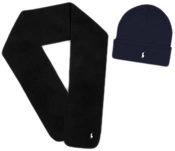 Теплая шапка и шарф Polo Ralph Lauren (ориг.бирка) зима