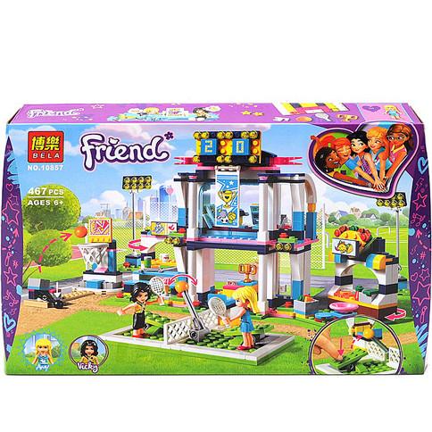 "Конструктор Bela Friends 10857 ""Спортивна арена для Стефані"" (аналог Lego Friends 41338), 467 дет"