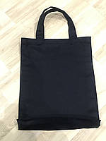 Эко сумка из саржи с широким дном 40см х 34см х 5см