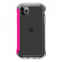 Противоударный бампер Element Case Rail Clear/Flamingo Pink для iPhone 11 Pro, фото 1