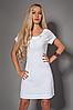 Платье мод 477-5 размер 42-44,44-46,46-48,48-50 белое (А.Н.Г.)
