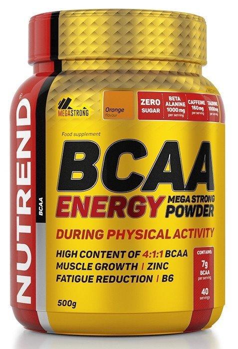 Спортивное питание Nutrend BCAA ENERGY MEGA STRONG POWDER